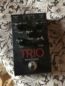 trio band creator with foot pedal