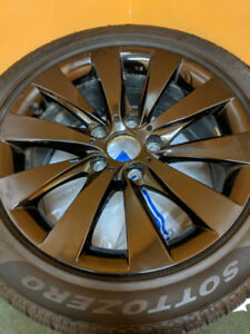 BMW alloy rims 17 x 7.5 and snow tires 225 50 17