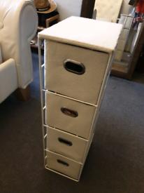 Small bathroom/ bedroom drawer unit