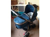 Mothercare Orb pram - teal