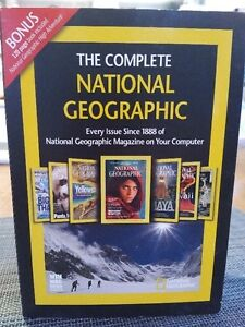 Every National Geographic Magazine to 2010 on CD-ROM- $10