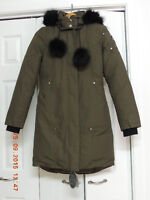 NEW MOOSE KNUCKLES CAMO STIRLING PARKA XS $750 (RETAIL $850+TX)