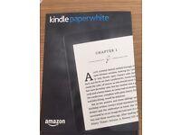 Brand new kindle paper white 4gb 300ppi