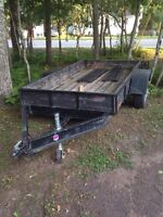 Utility trailer / heavy duty