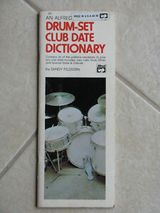 Drum-Set Club Date Dictionary, by Sandy Feldstein, 1978