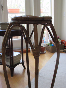 Bamboo Plant stand - perfect for deck  Good condition.
