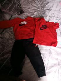 Baby boys Nike tracksuit