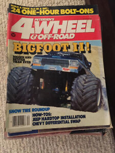 various car and truck magazines