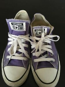 Purple Women's Converse - Size 7