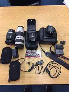Canon 40D Photographer's Complete Outfit with 3 Lenses Regina Regina Area image 1