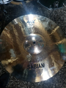 "18"" Sabian Concept crash cymbal (NEW)"