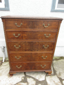 Fabulous Antique (c1930) Tall Dresser