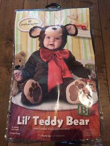 Costume teady bear 12-18 mois