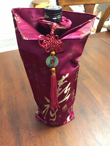BRAND NEW WINE BOTTLE DECORATIVE BAG/COVER West Island Greater Montréal image 2