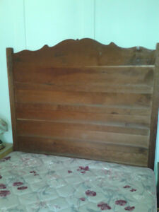 queen antique head board
