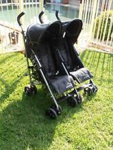 CHILDCARE ROVER XT TWIN DOUBLE STROLLER / PRAM in GOOD CONDITION Miranda Sutherland Area Preview