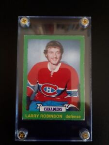 1973 OPC LARRY ROBINSON ROOKIE CARD