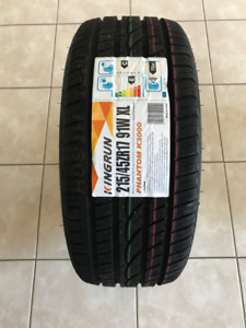 215-45-17 NEW ALL SEASON TIRES ON SALE,$75(TAXES IN)