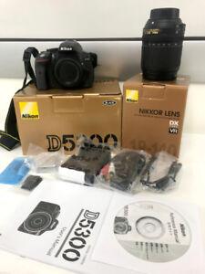 Nikon D5300 Body w/ AF-S DX NIKKOR 18-140mm VR Lens