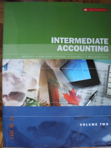 Intermediate Accounting Volume 2 Paperback