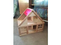 Wooden dolls house STILL AVAILABLE 14/1/17