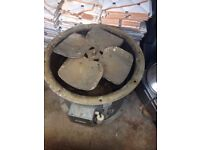 Extractor engine for take away/ restaurant fan