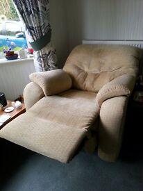 Powered reclining chair