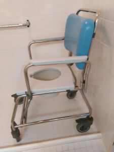 Shower/ toilet Commode top of the line
