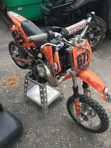 2007 KTM 50 SX Senior Pro