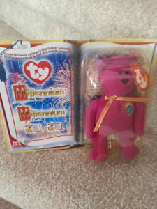 "Collectible McDonald's Toy ""Beanie Babies 2000"" THE BEAR"
