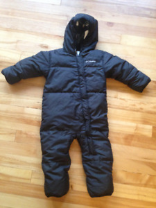 Columbia Tiny Snuggly Bunny Bunting Snowsuit - 18-24 Mo.
