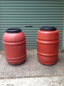 Plastic drums Erina Gosford Area Preview