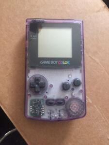 Nintendo Game Boy Color Atomic Purple Handheld System