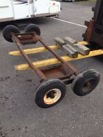 Towing dolly wheels for tow truck $425.