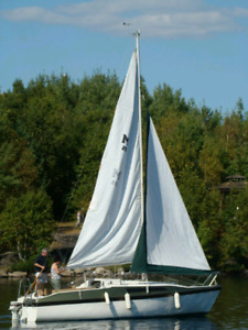 1992 McGregor 26S Sailboat and Trailer