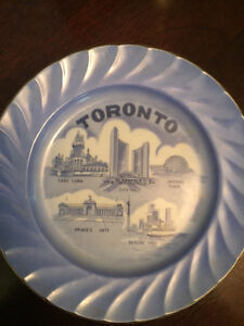 Decorative plate from Toronto.