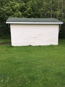 Baby Barn Utility Shed w/ Add on