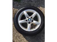 BMW E46 16 inch alloys wheels