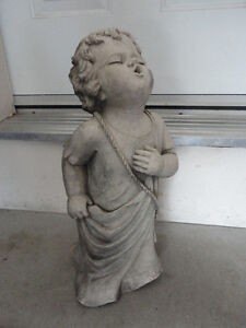 """CHERUB TALKING TO GOD"" DECORATIVE STATUE - TIC COLLECTION London Ontario image 7"