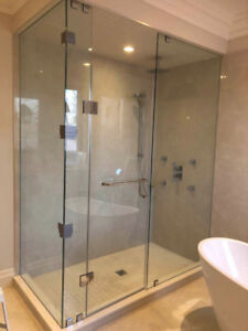 10mm Tempered Glass Shower Door / Mirrors / Stairs