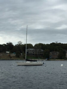 Kirby 25 Sailboat and trailer