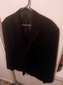 Mans velvet jacket