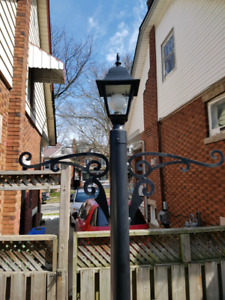 awesome homemade lamp post