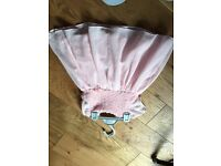 Pink girls dress 12 months
