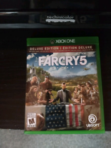Far cry 5 édition Deluxe