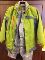 Boy's size 10-12 Columbia winter jacket and snow pants