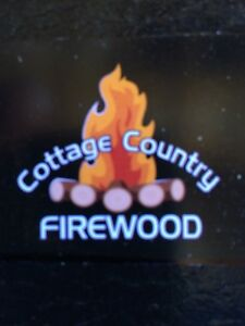 Cottage country firewood