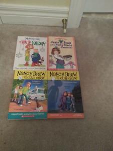 Judy Moody & Stink, Junie B. Jones, Nancy Drew-$3ea or 4 for $6