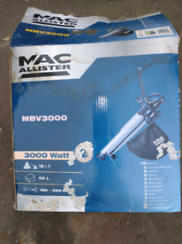 Mac Allister MBV3000 Blower Vac NEW