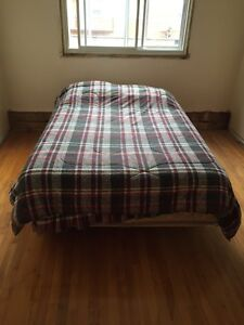 Bed with Frame